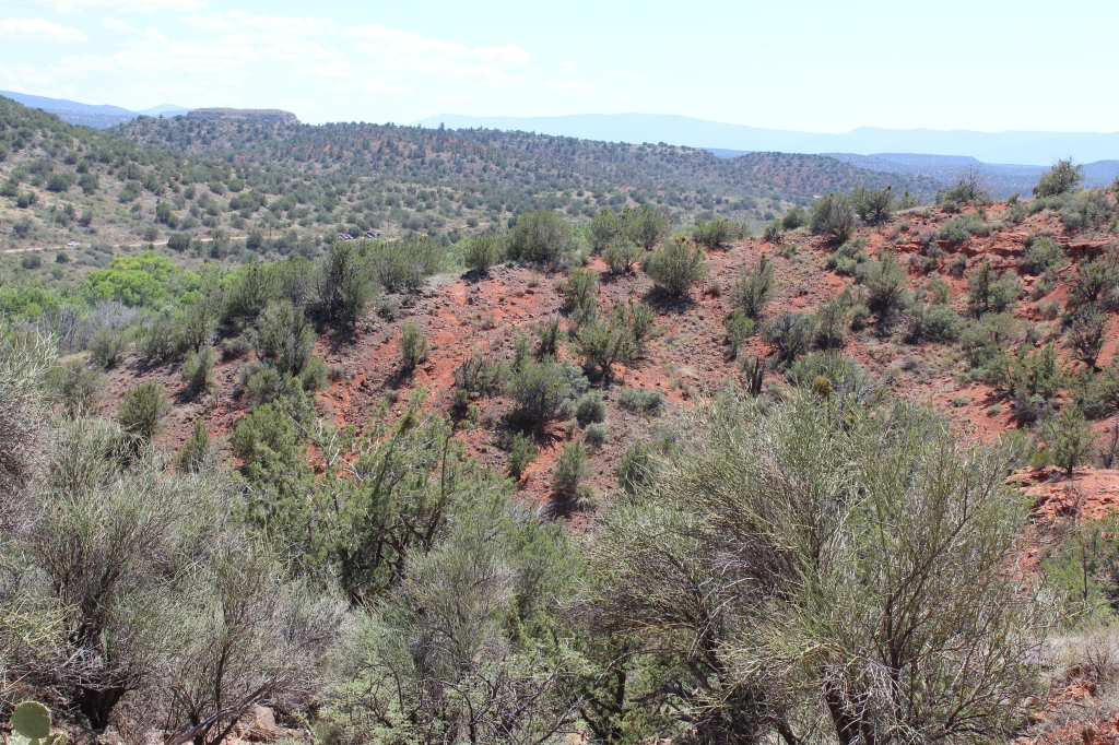 Looking out on the Verde Valley